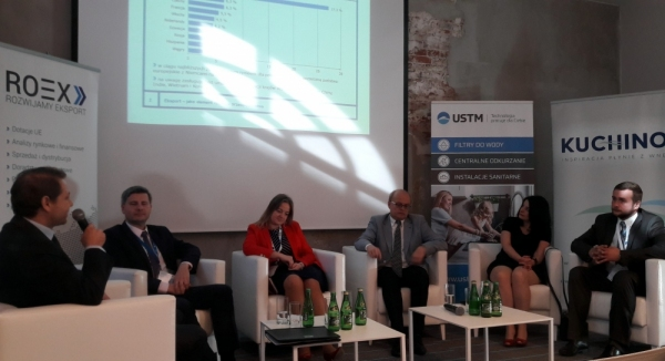 Prelegenci panelu eksperckiego pt. Eksport - jako element rozwoju przedsiębiorstwa