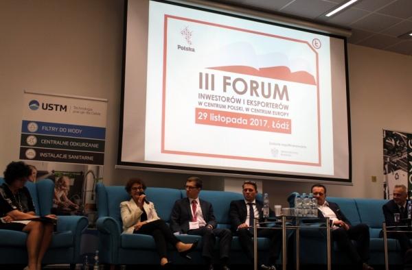 Emilia Kubicka-Szalewicz, Dyrektor Handlu Zagranicznego UST-M, podczas sesji pro-eksport