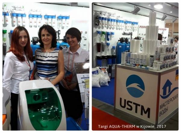 W środku - Natalia Staruch z Działu Handlu Zagranicznego UST-M wraz z przedstawicielkami firmy Masterskaya Vody.