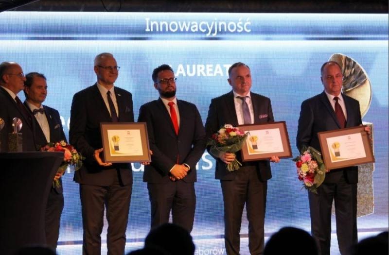 UST-M doceniona przez Wojewodę Łódzkiego za innowacyjne produkty