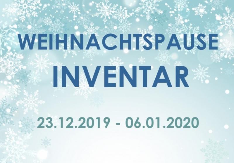 Weihnachtspause / Inventar