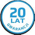 20 lat gwarancji! na materiały instalacyjne CO
