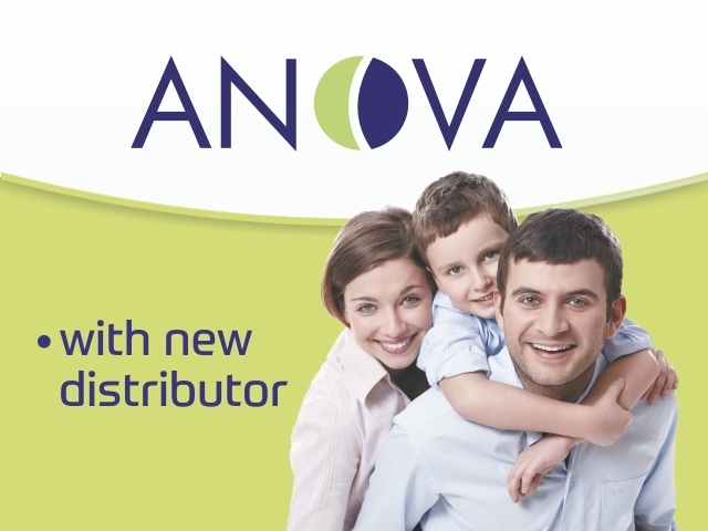Anova - with new distributor
