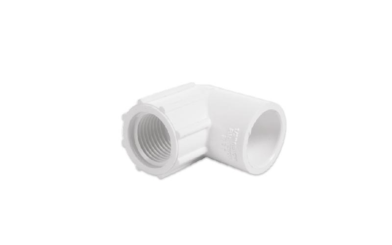 90° PVC ELBOW (GI X FT)