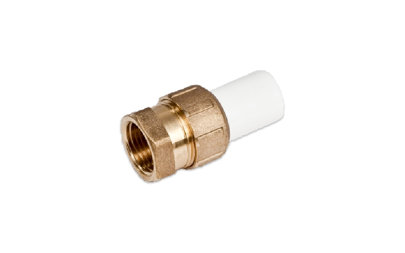 PVC SCREW CONNECTION WITH PLASTIC (FT X GO)