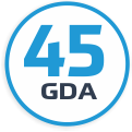 GDA 45-year experience