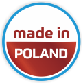 Manufactured in central Poland; easy delivery to any location