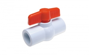 Zawór kulowy (KW x KW) PVC