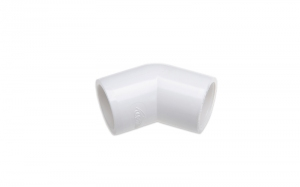 КОЛЕНО 45° (SL X SL) PVC