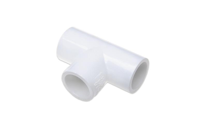 РЕДУКЦИОННЫЙ ТРОЙНИК (SL X SL X SL) PVC