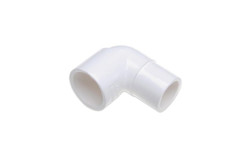 КОЛЕНО ПЕРЕХОДНОЕ  90° (SL X SP) PVC